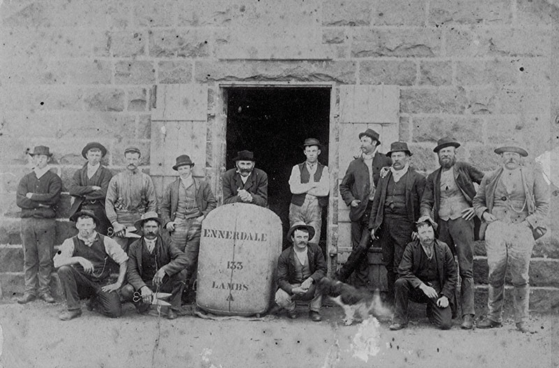 Ennerdale Shearing Team 1888