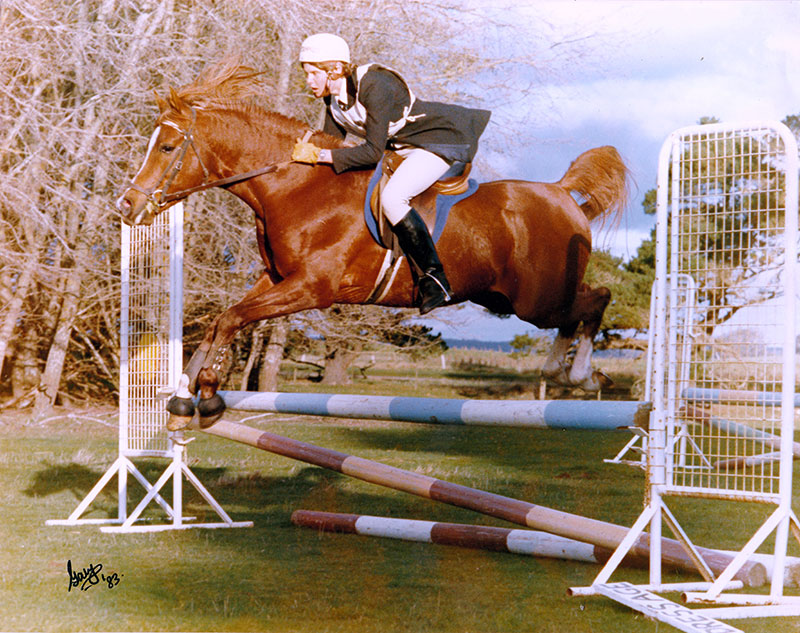 Izmir Imp UK (El Shaklan – Ismailia Exp USA) Champion Stallion Melbourne Royal and winner of the Ridden Arabian Stallion. Competed in Dressage, Eventing and hunted with the Ellerslie Hunt Club.